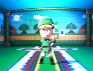 Adorable Mii as Link