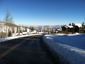 This is Park City, Utah