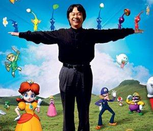 The creative Shigeru Miyamoto