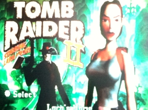 Lara Croft from Tomb Raider 2
