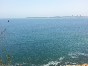 View of Dakar from Goree Island