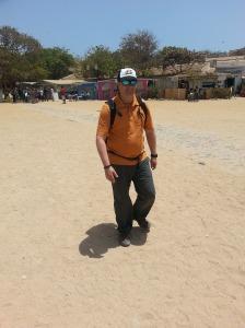 Me Walking Around