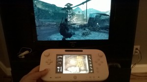 A handy map on the Wii U gamepad
